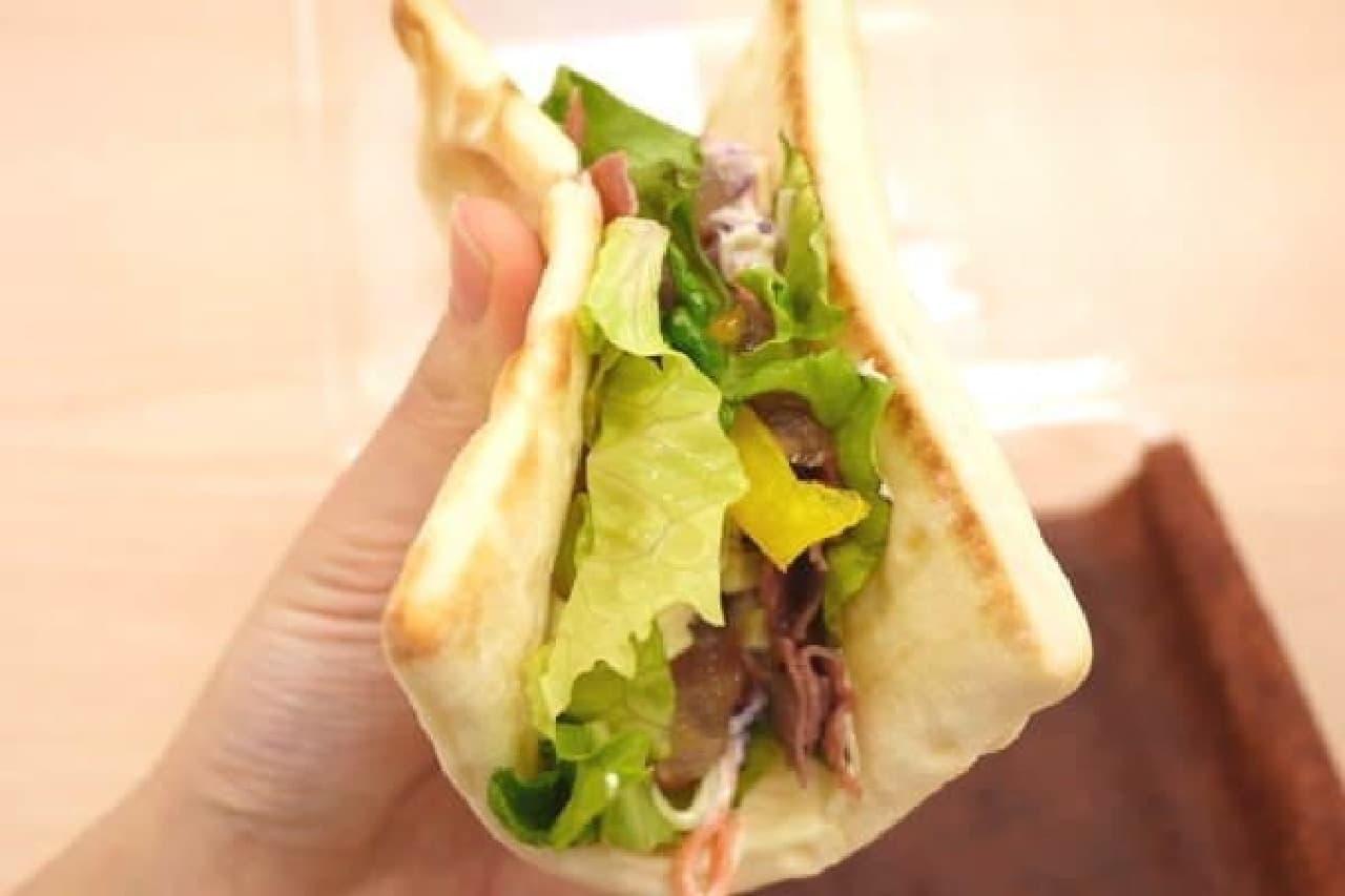 サラダ?サンドイッチ?新感覚「サラダピザ」