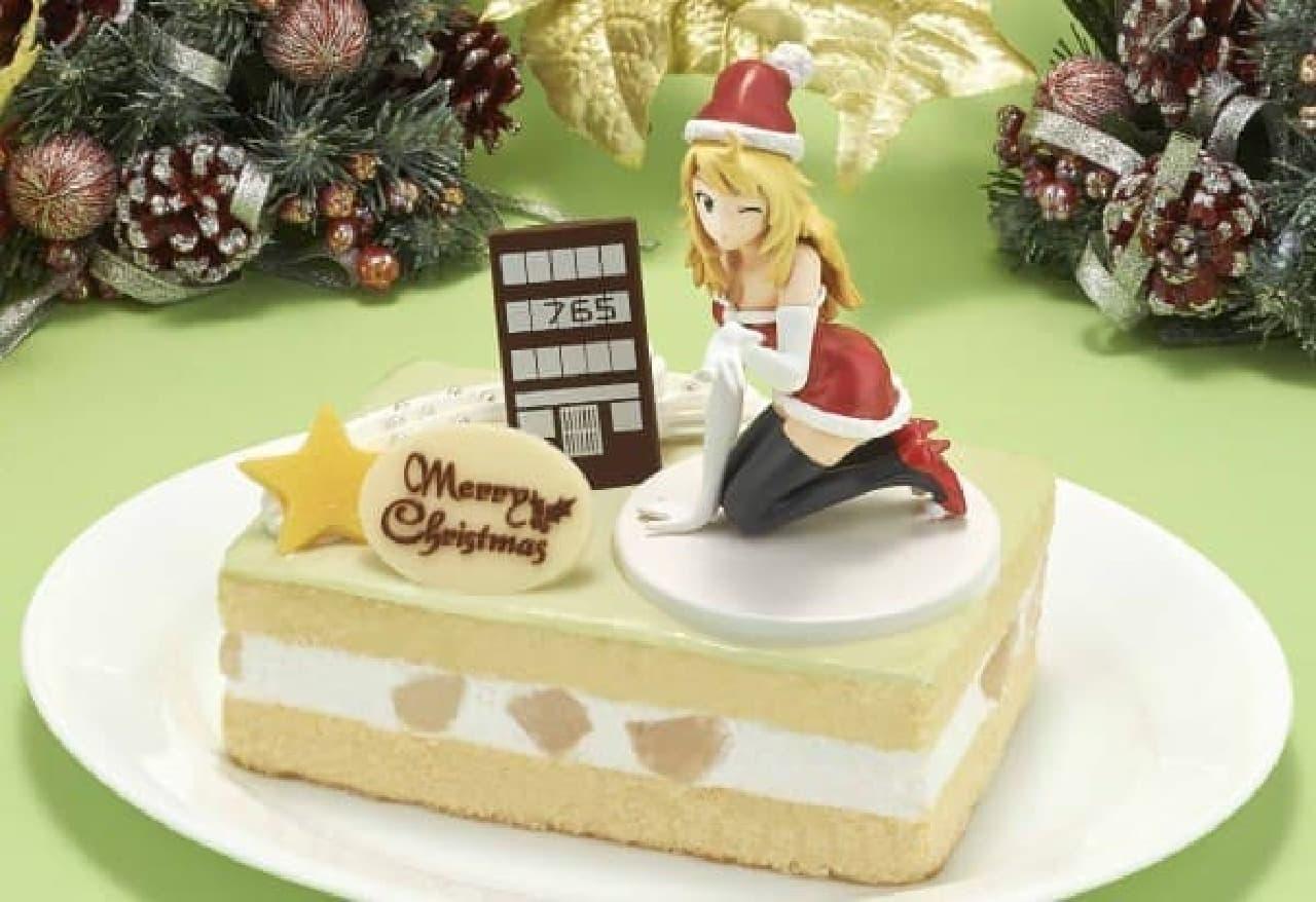 ミキからクリスマスケーキのプレゼント!  (c)NBGI/PROJECT iM@S