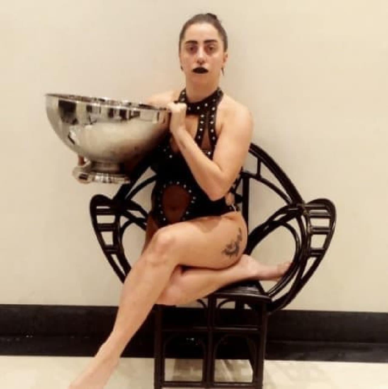 ガガ様も。なんか美しい  (出典:Lady GaGa 公式 Instagram)