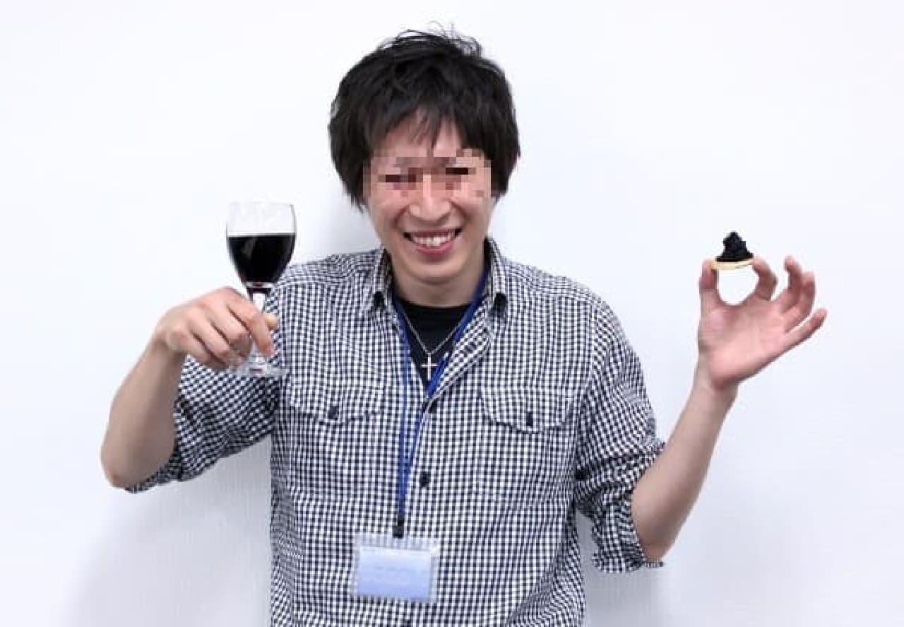 それでは、赤ワインとともに...ボナペティ!
