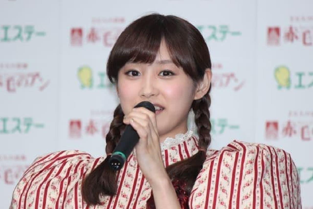 アン・シャーリー役の高橋愛さん