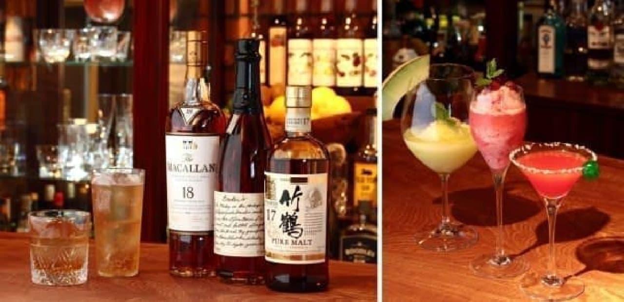 「お酒の楽しみ方」を伝える豊富なドリンクメニュー
