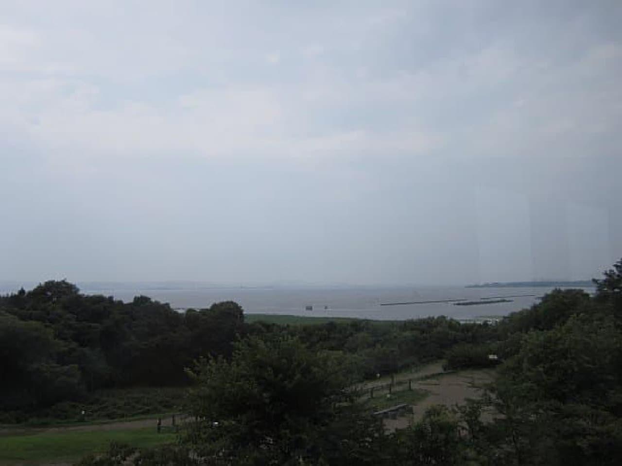 海のように雄大な琵琶湖