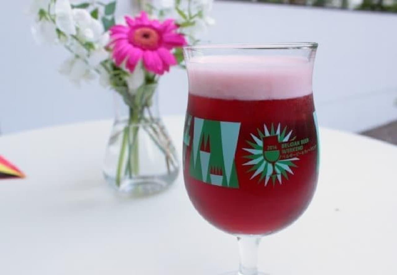 お花みたいに華やかなビール