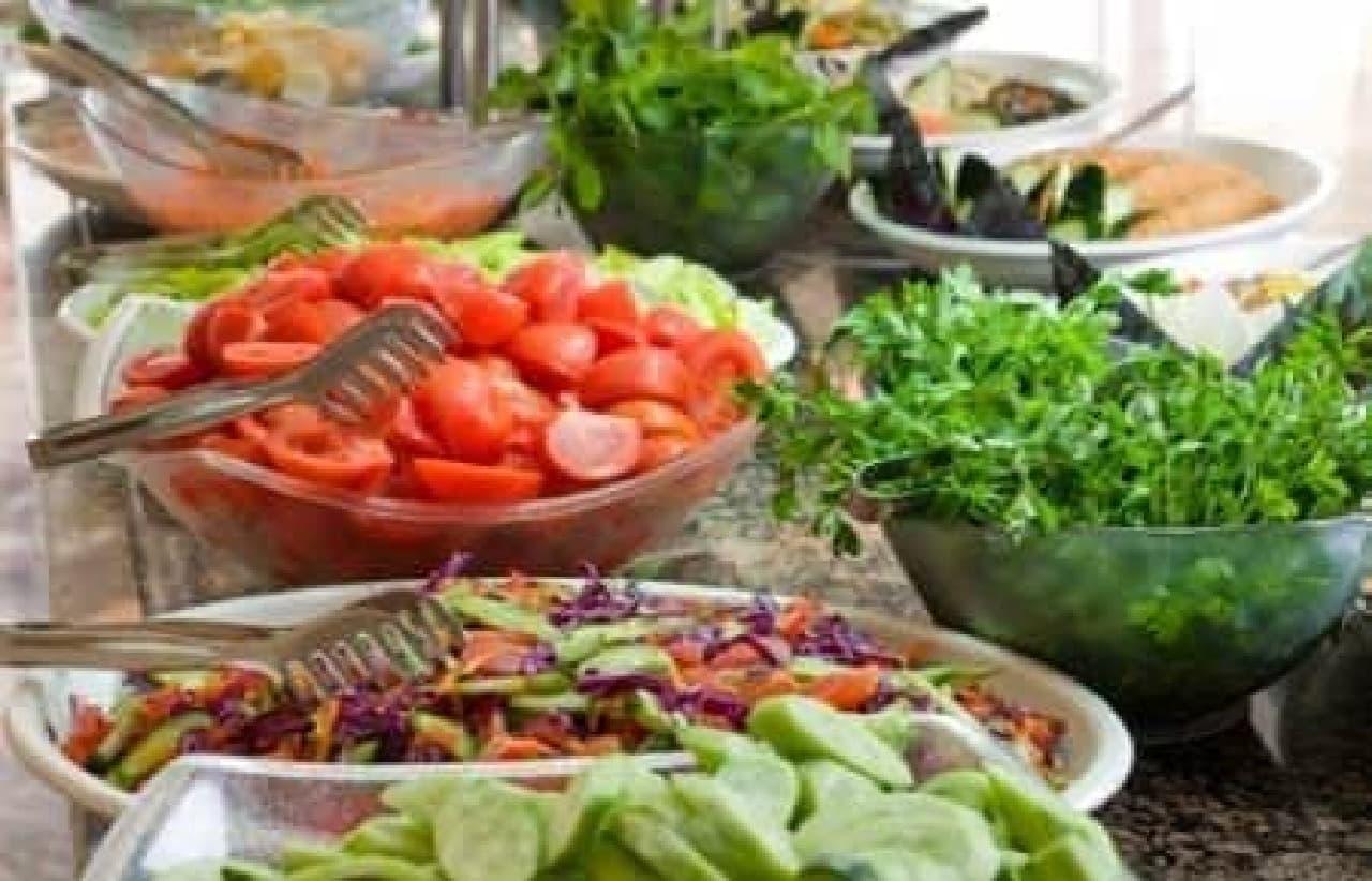 肉も野菜も好きなだけ堪能!