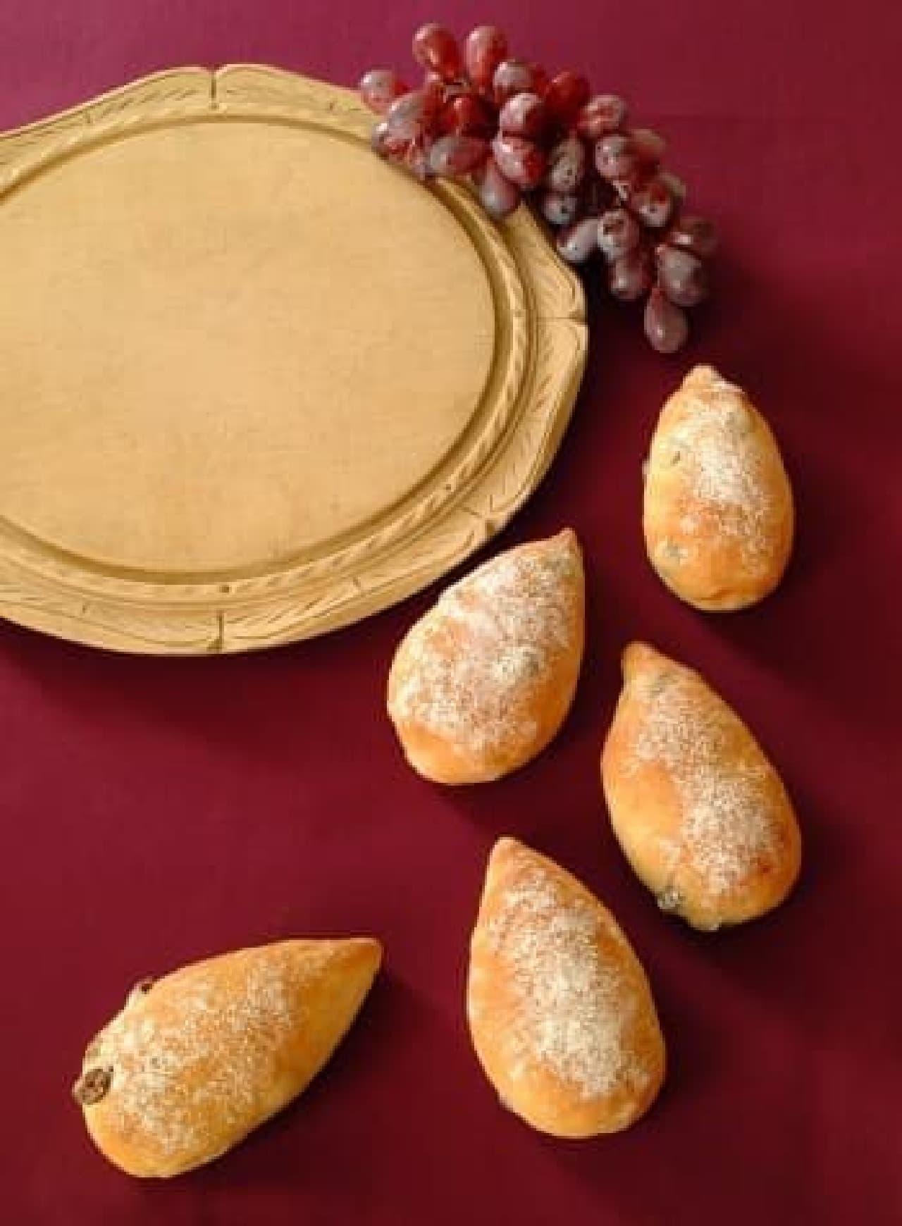 """涙の""""しずく""""みたいなパンがアフタヌーンティーに"""