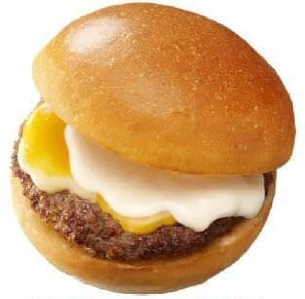 期間限定!「3種のとろける絶品チーズバーガー」