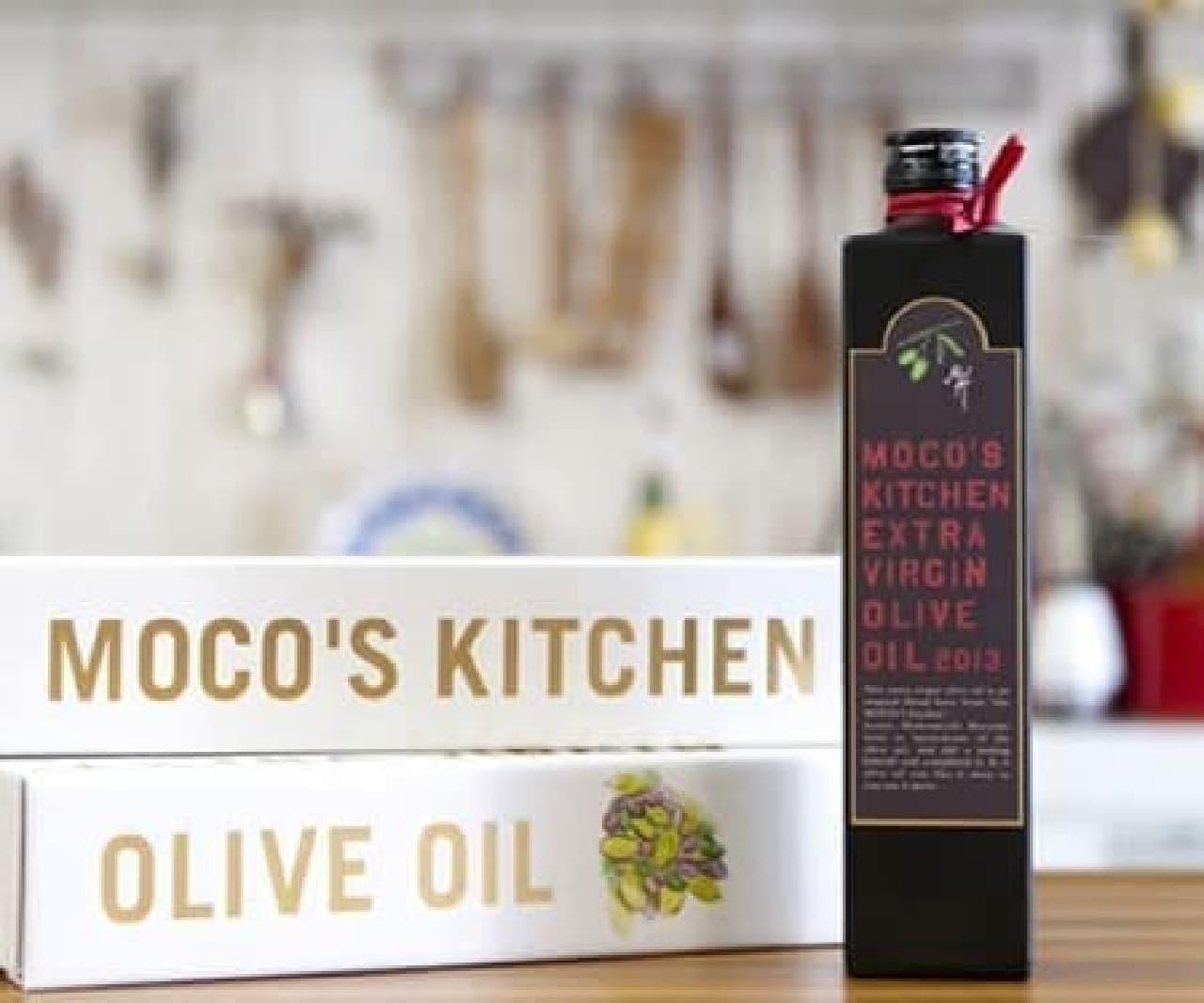 「MOCO'S キッチン エキストラヴァージンオリーブオイル」