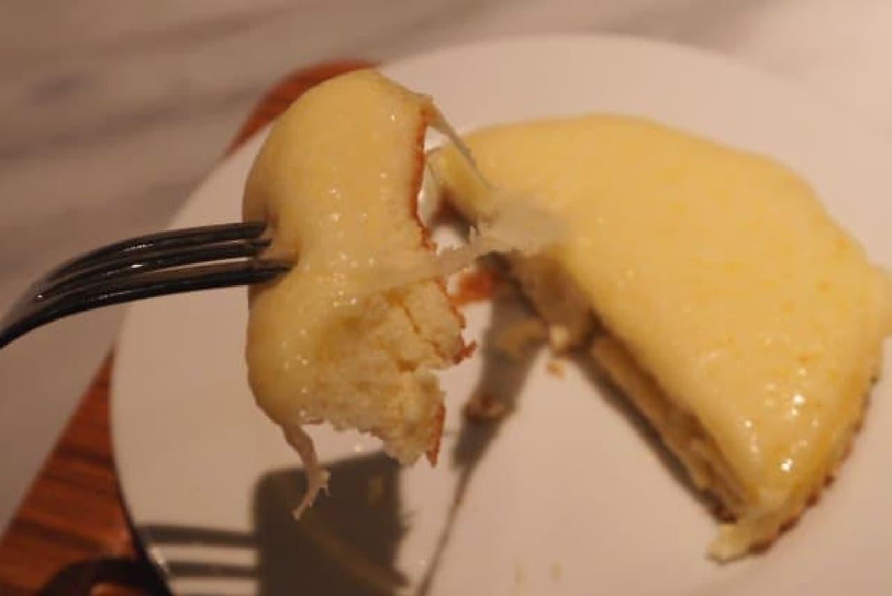 チーズが伸びる!