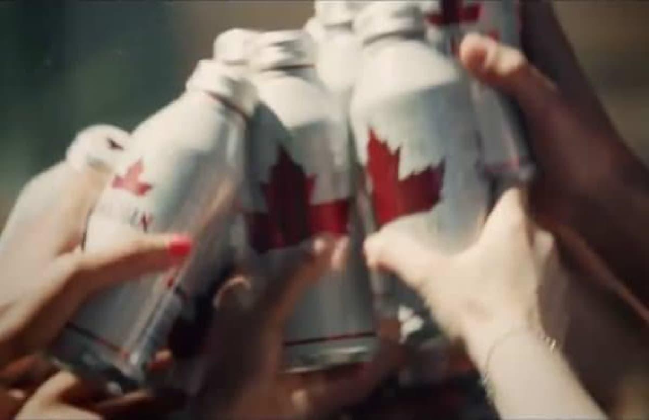 カナダの日に...カンパーイ!