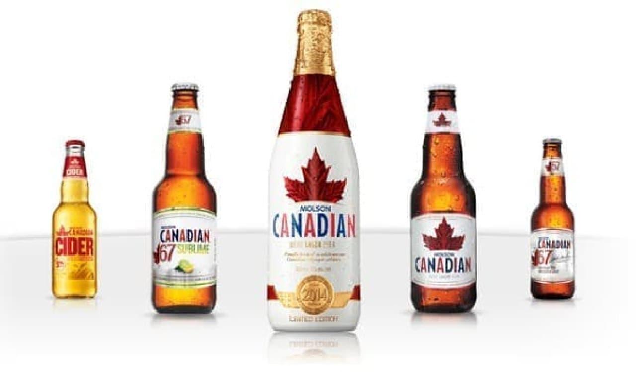 カナダ人だけが買えるビール?  (出典:Molson Canadian 公式サイト)