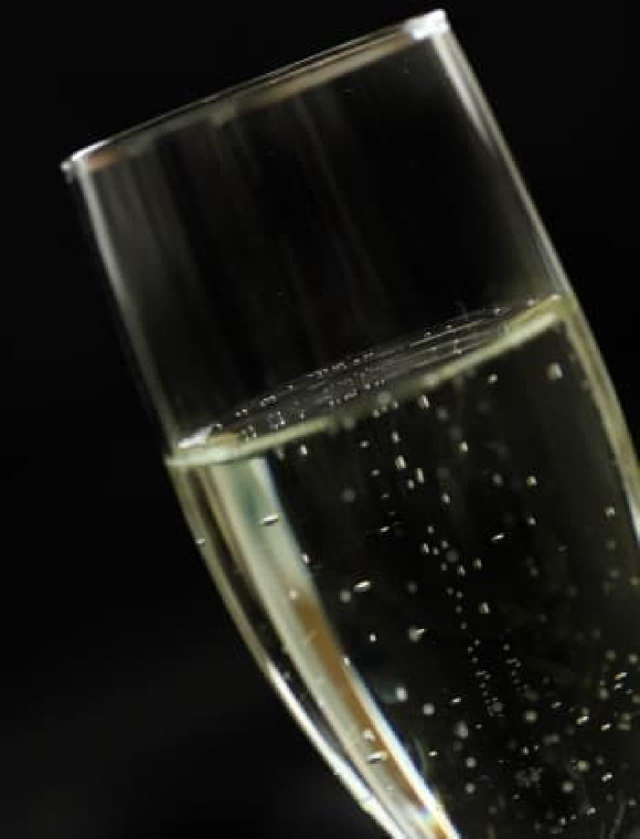 シャンパン、奥が深いなぁ