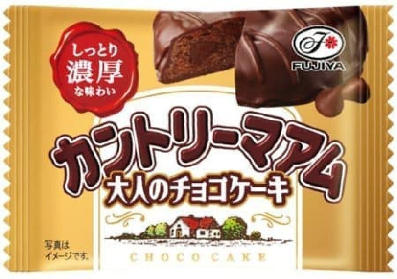 しっとり濃厚、贅沢なチョコケーキ