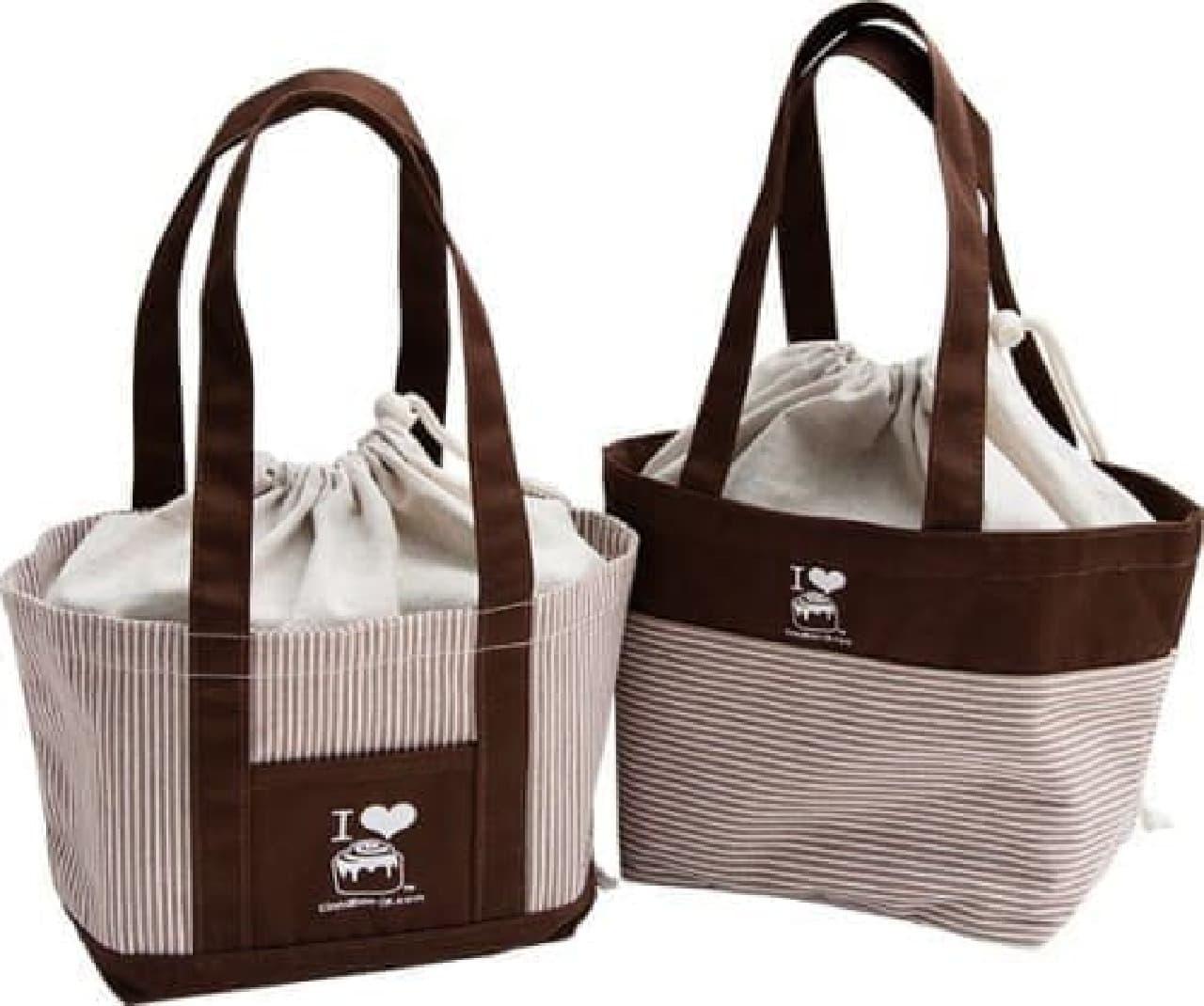 ミニトートバッグは「ボーダー」と「ストライプ」の2種