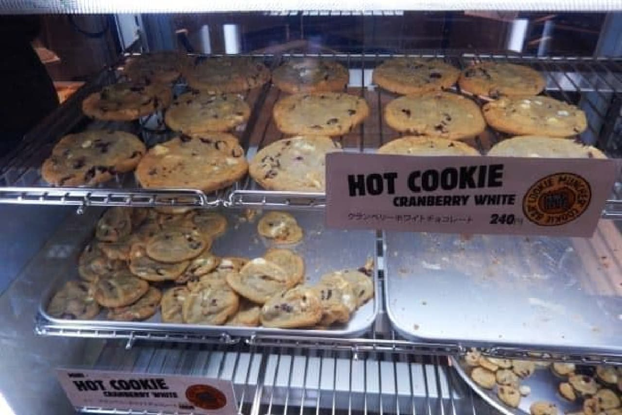 看板メニューのクッキーたち