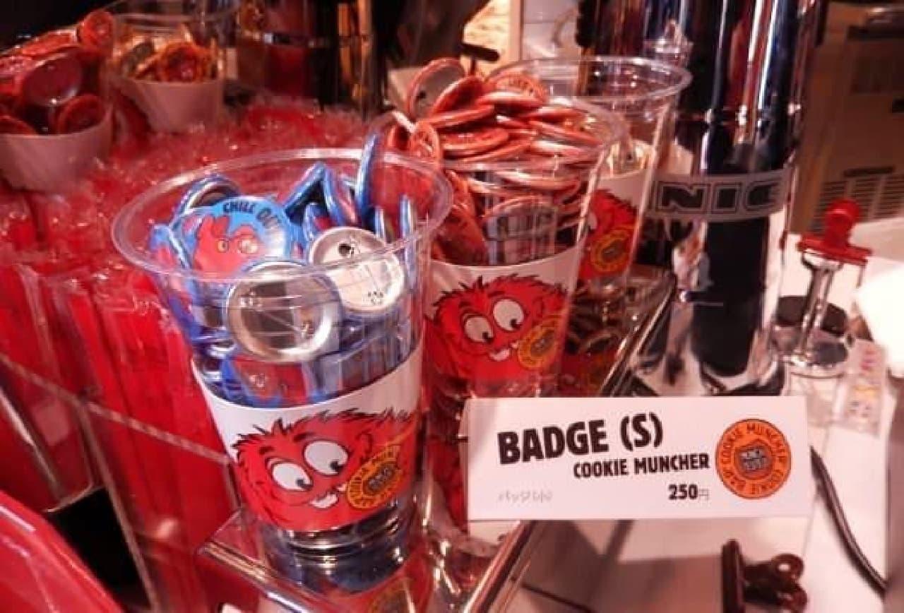 オリジナルキャラクターの缶バッジ