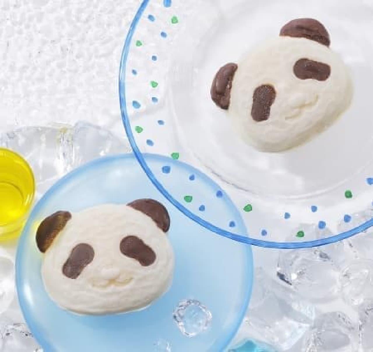ひんやり冷えたパンダはいかが?