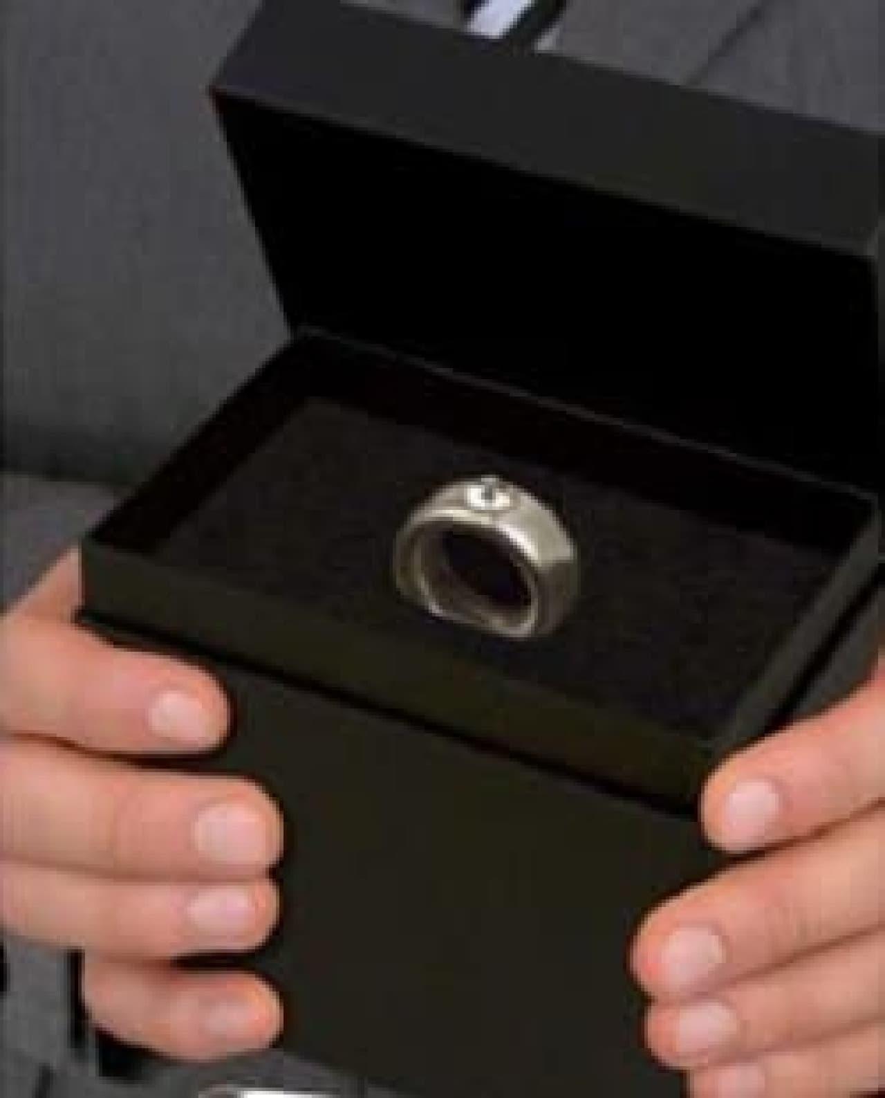 「えっ、指輪...わたしに?」