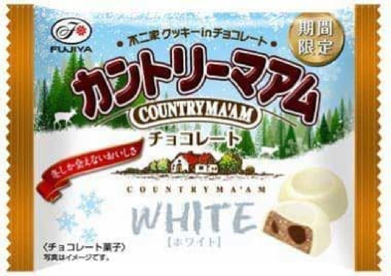 冬しか会えないおいしさ、カントリーマアムチョコレート