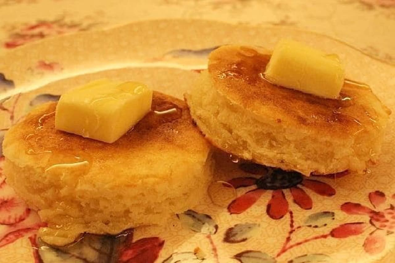 バターとハチミツが輝いている!