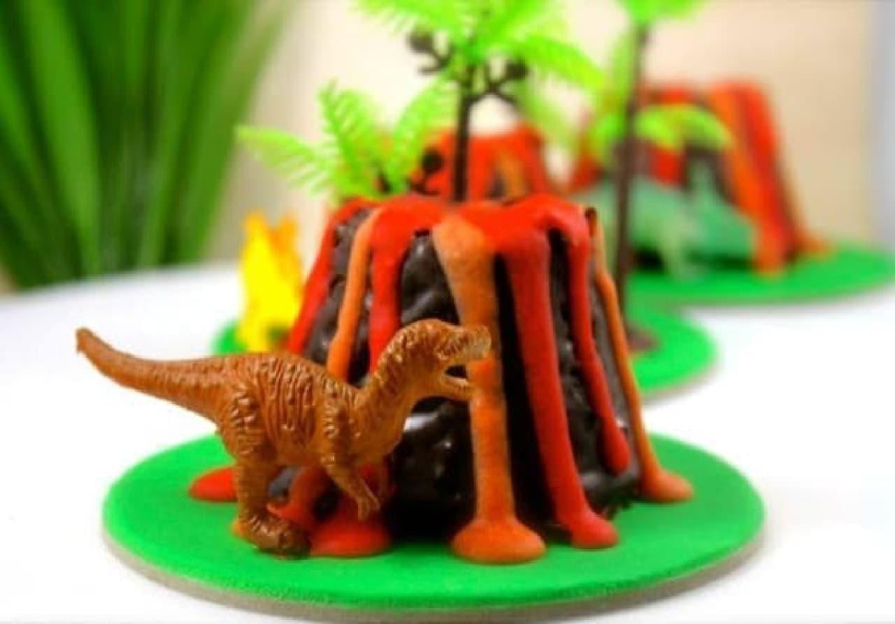恐竜は食べられないよ!