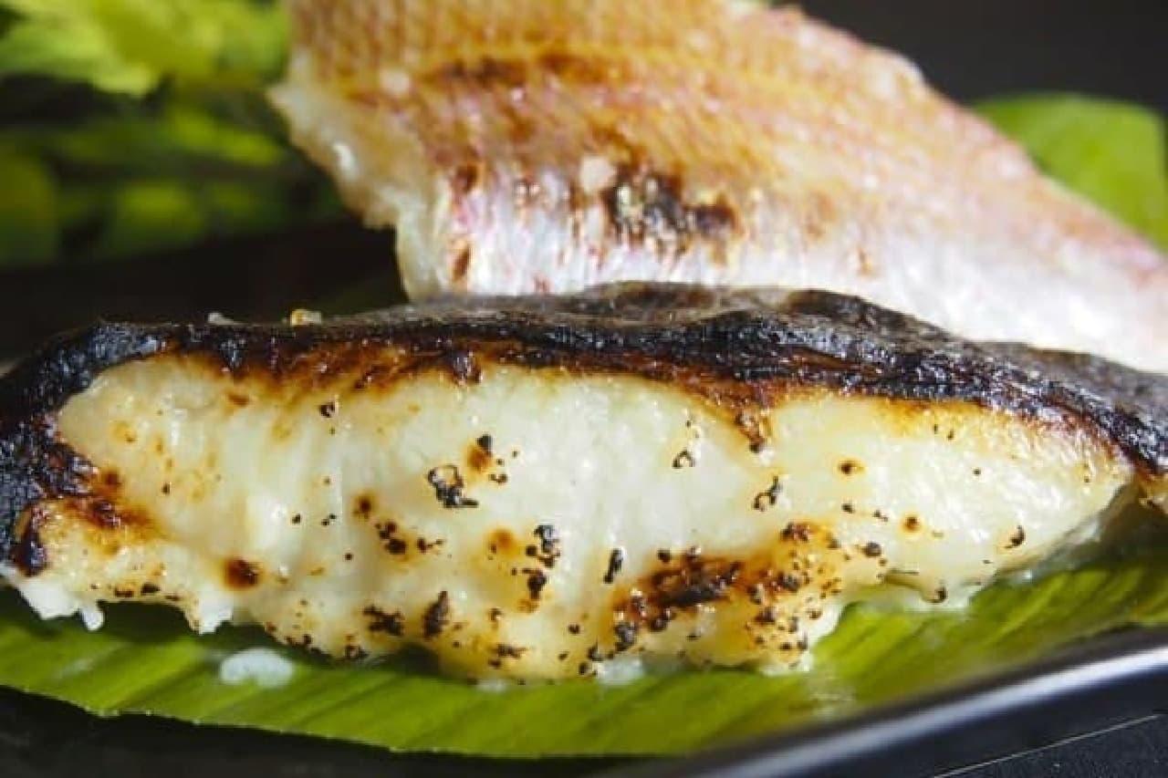 「獺祭」の酒粕で新鮮な魚を粕漬けに