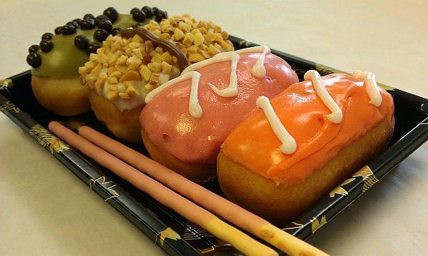 アニメイベント「FanimeCon」に登場したドーナツ寿司「サイコ スシ」
