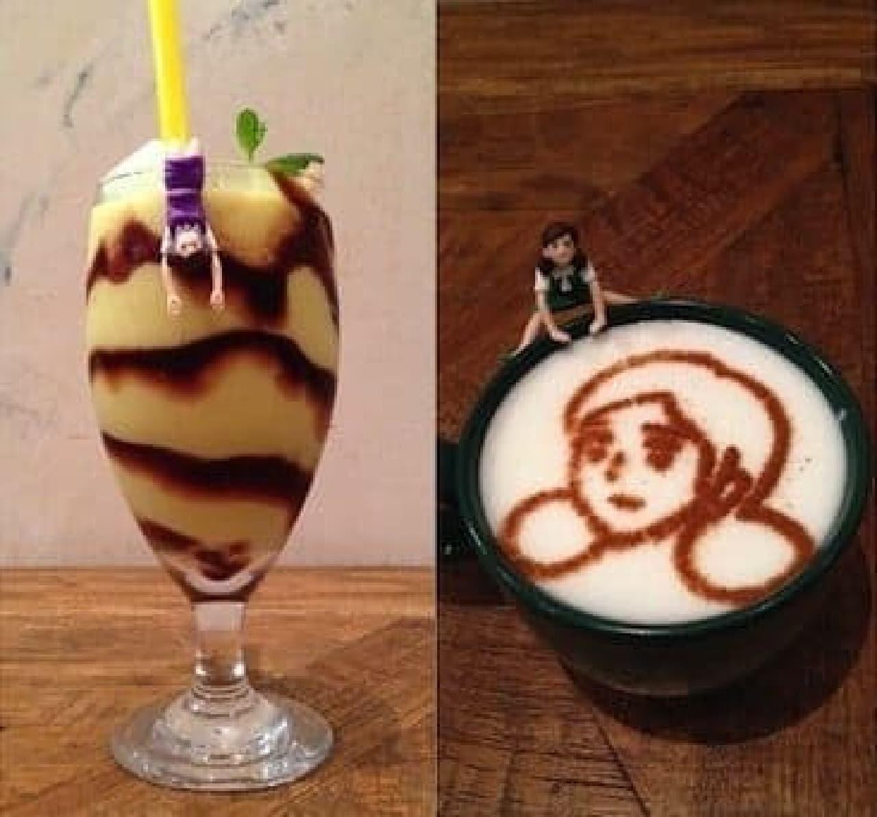 期間限定「カフェのフチ子」オープン  (出典:奇譚クラブ)
