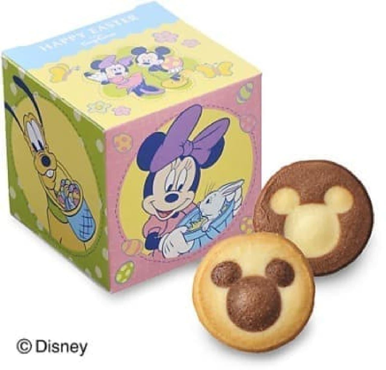 賑やかなボックスに詰め合わせた「イースタークッキー」