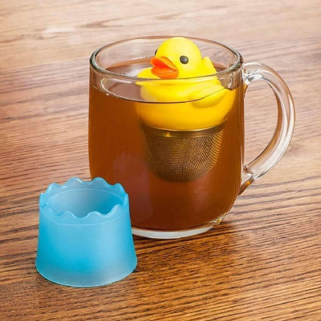 アヒル型のティーインフューザー「Duck Tea Infuser」