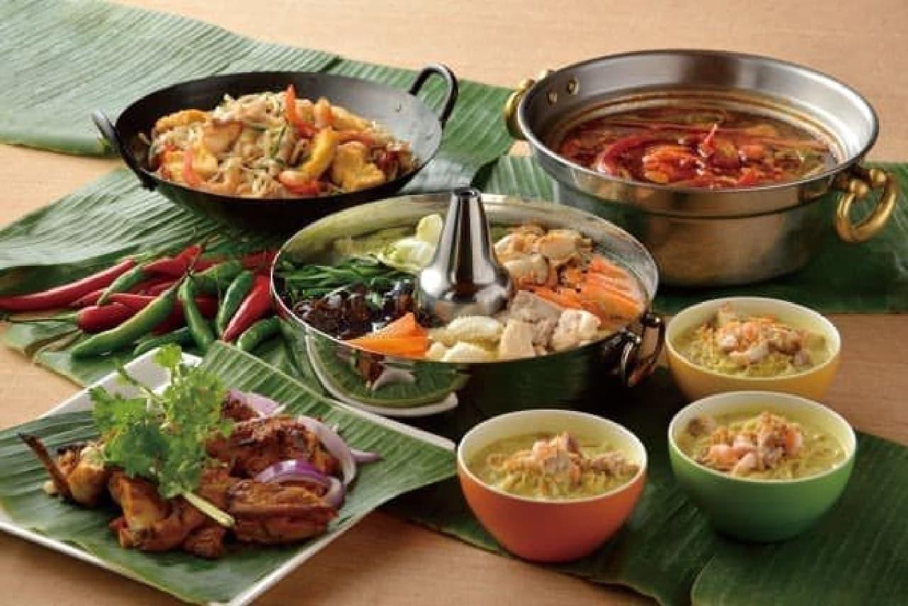 味覚のアジア旅行、してみませんか