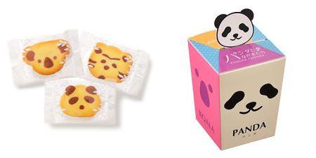 パンダ主役のクッキー  コアラとトラはなぜ選ばれたのでしょうか・・・?