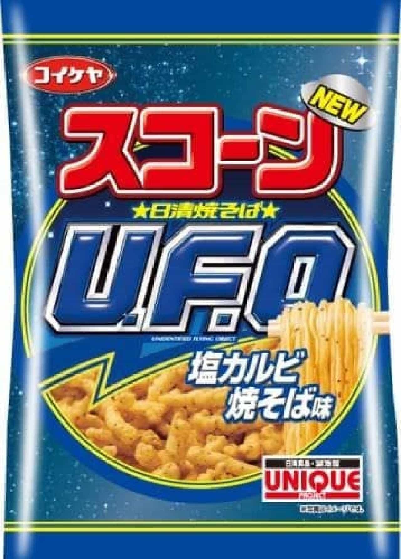 「スコーン 日清焼そば U.F.O. 濃厚ソース焼そば味」