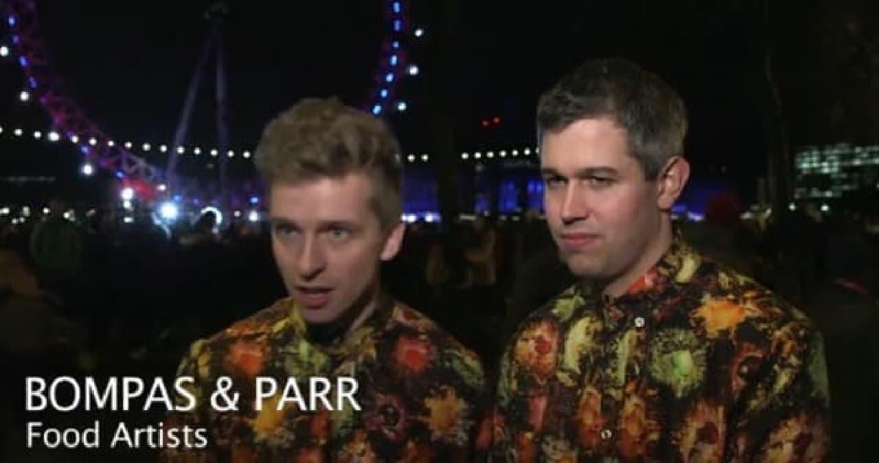 フルーツ花火のシャツを着た若き精鋭たち