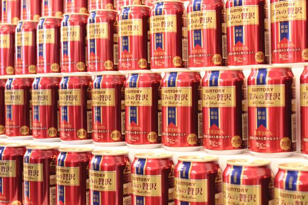 12月4日発売の限定プレミアムビール「サントリー 深みの贅沢」