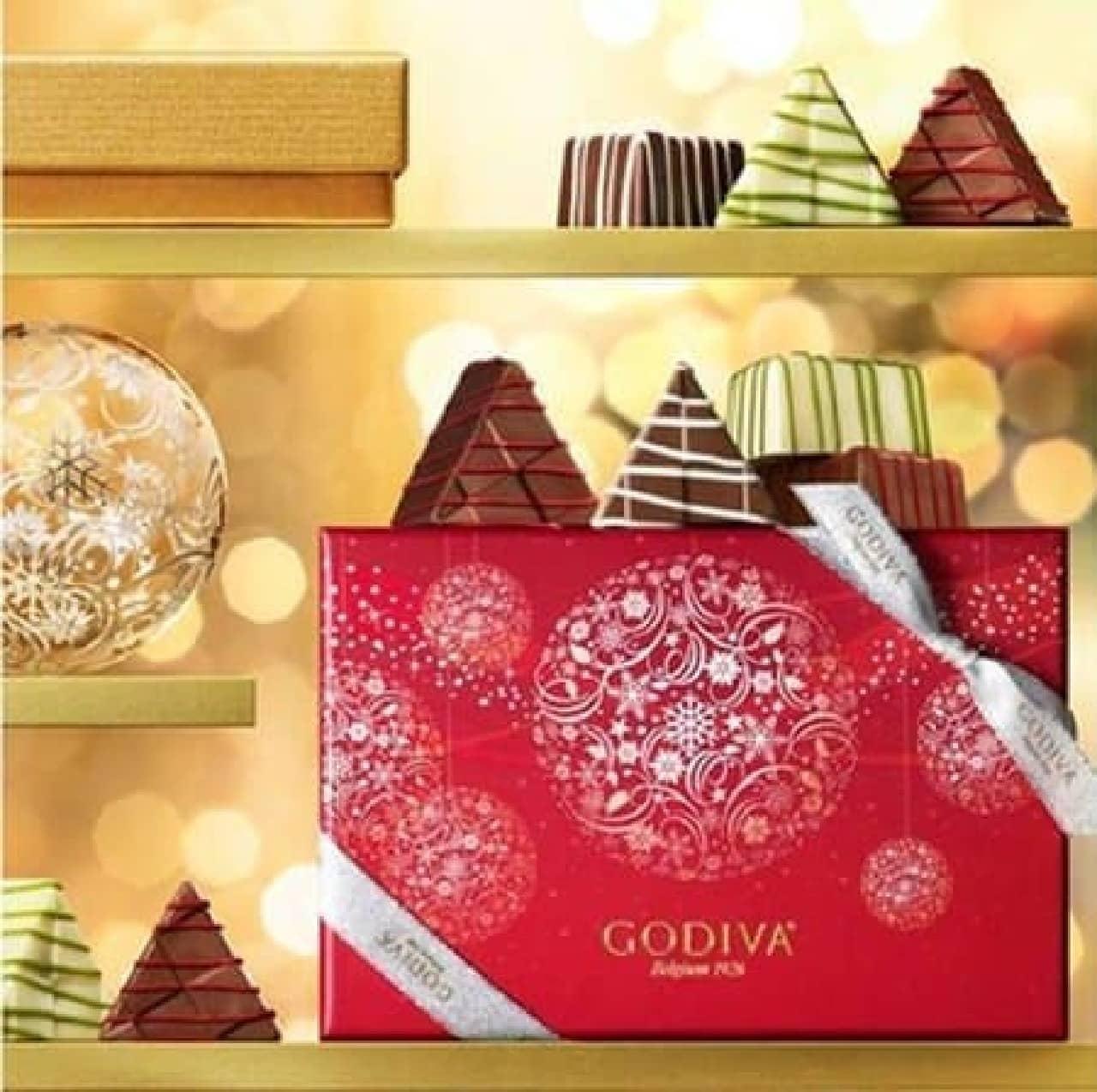 クリスマス限定の華やかなパッケージ