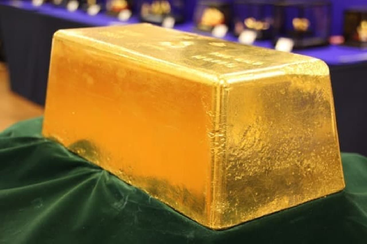 時価総額5億円、重さ120キロの巨大金塊