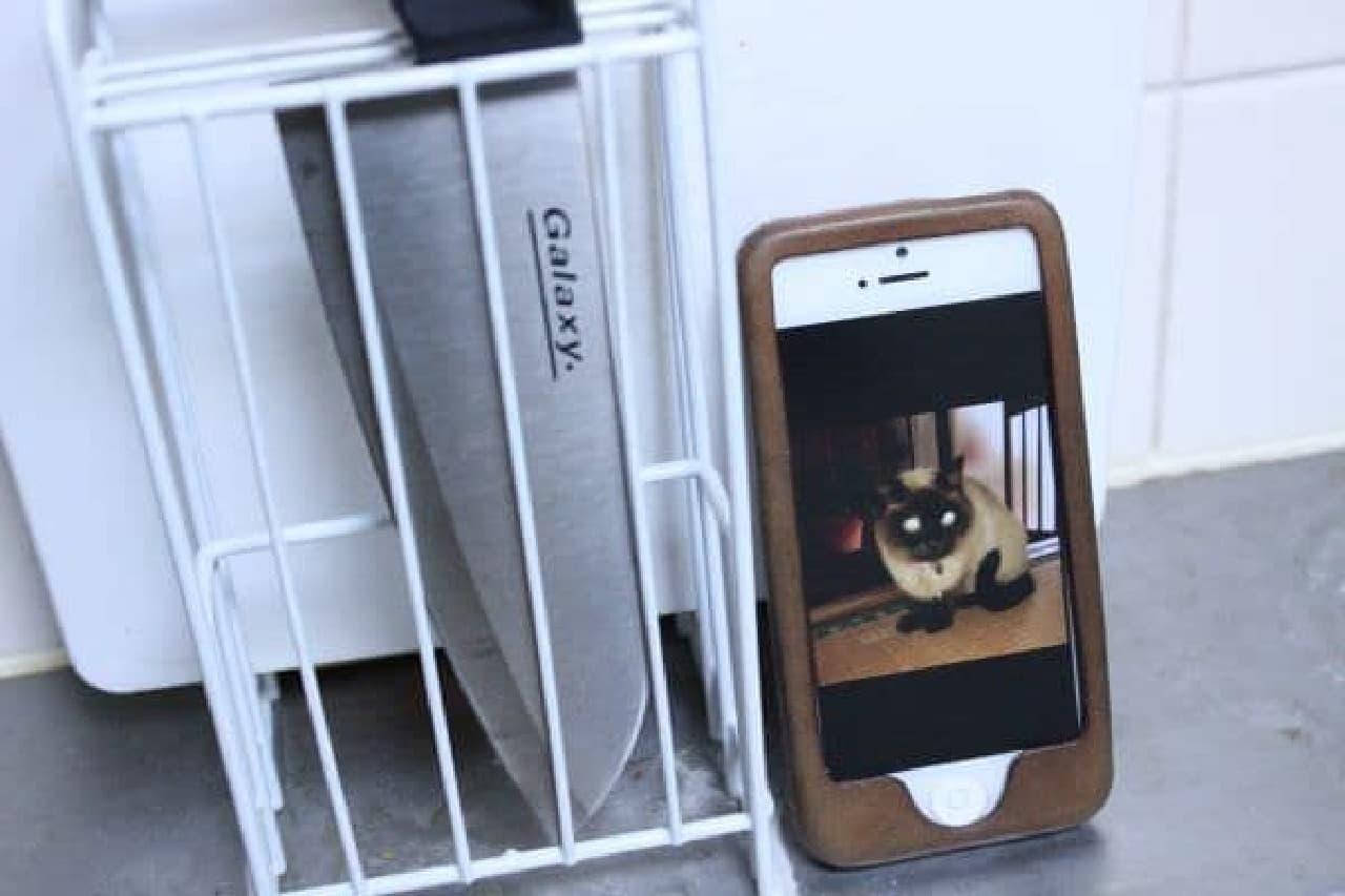 iPhone 5 に勝るとも劣らないスタイリッシュなフォルム