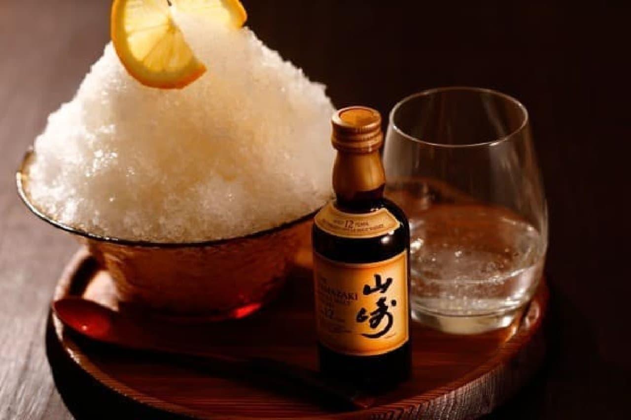京都の夏、ウイスキー香るオトナのかき氷はいかが?