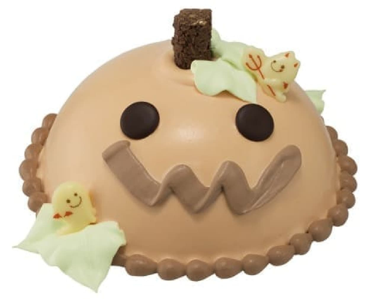 かわいいアイスクリームケーキも