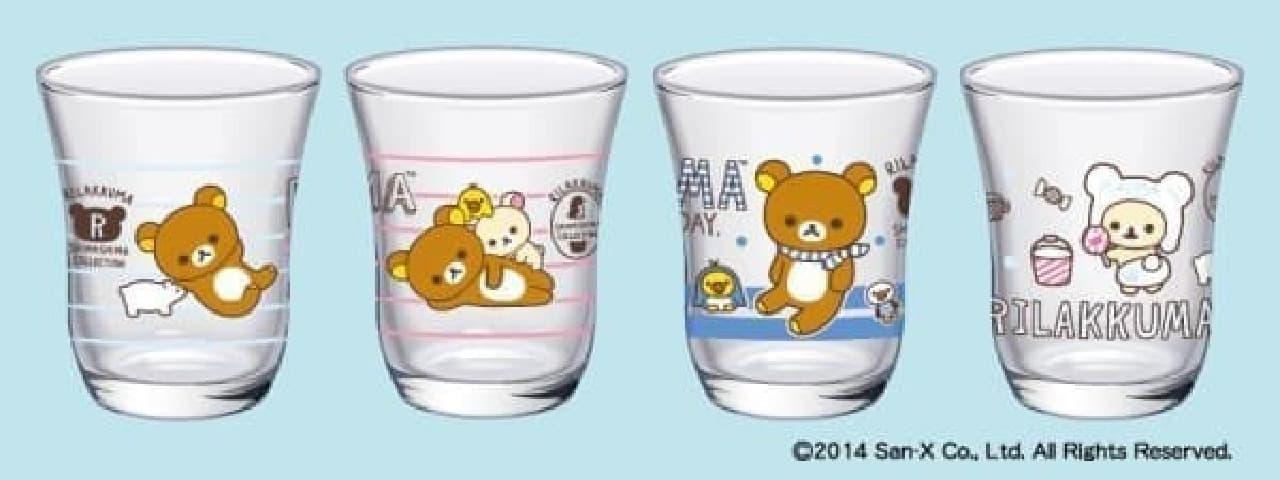 1,000円分買うと、好きなグラス1つもらえるよ