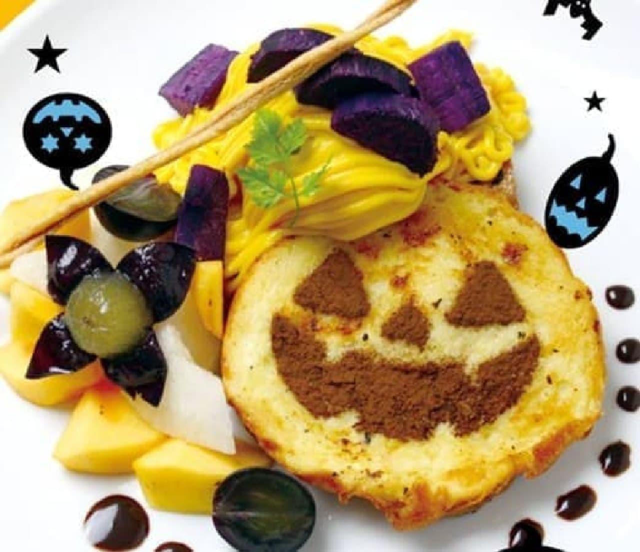 秋の味覚たっぷり!  (画像:Hug French toast cafe 梅田 Facebook ページ)
