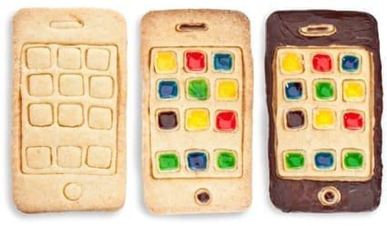 I-Cookie を使えば、「iPhone クッキー」が焼けます