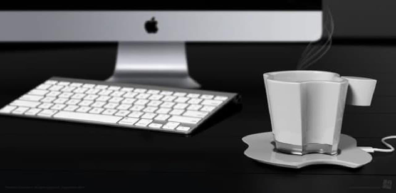 夢のiMac × iCup  (出典:Behance)