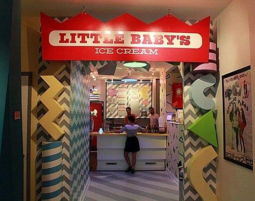 「Pizza Brain」隣のアイスクリームショップ「Little Baby's」