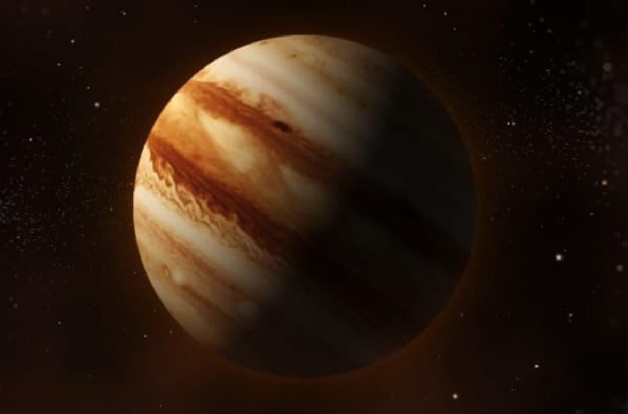 ちなみに、地球から木星までの距離は最大約9億キロ