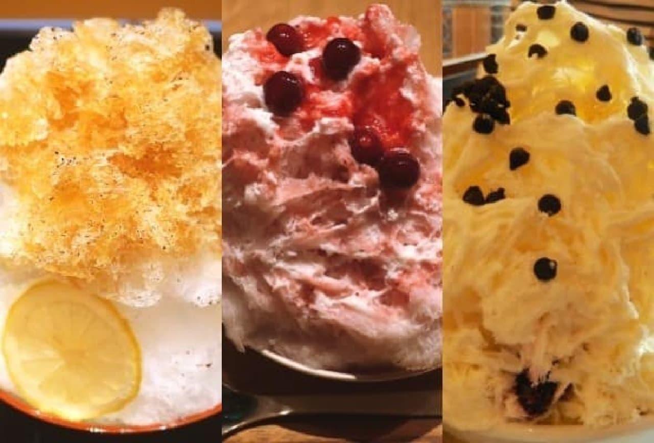 都内で食べられるおいしい「かき氷」