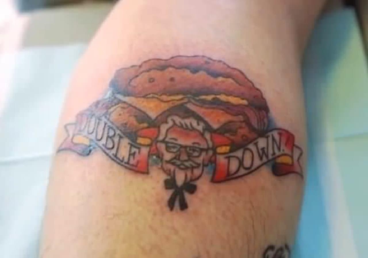 KFC への愛を誓う