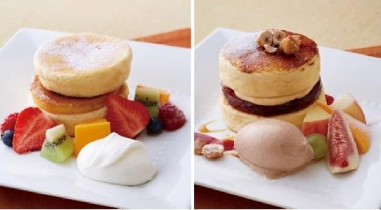 福岡三越だけの限定パンケーキ2種も販売