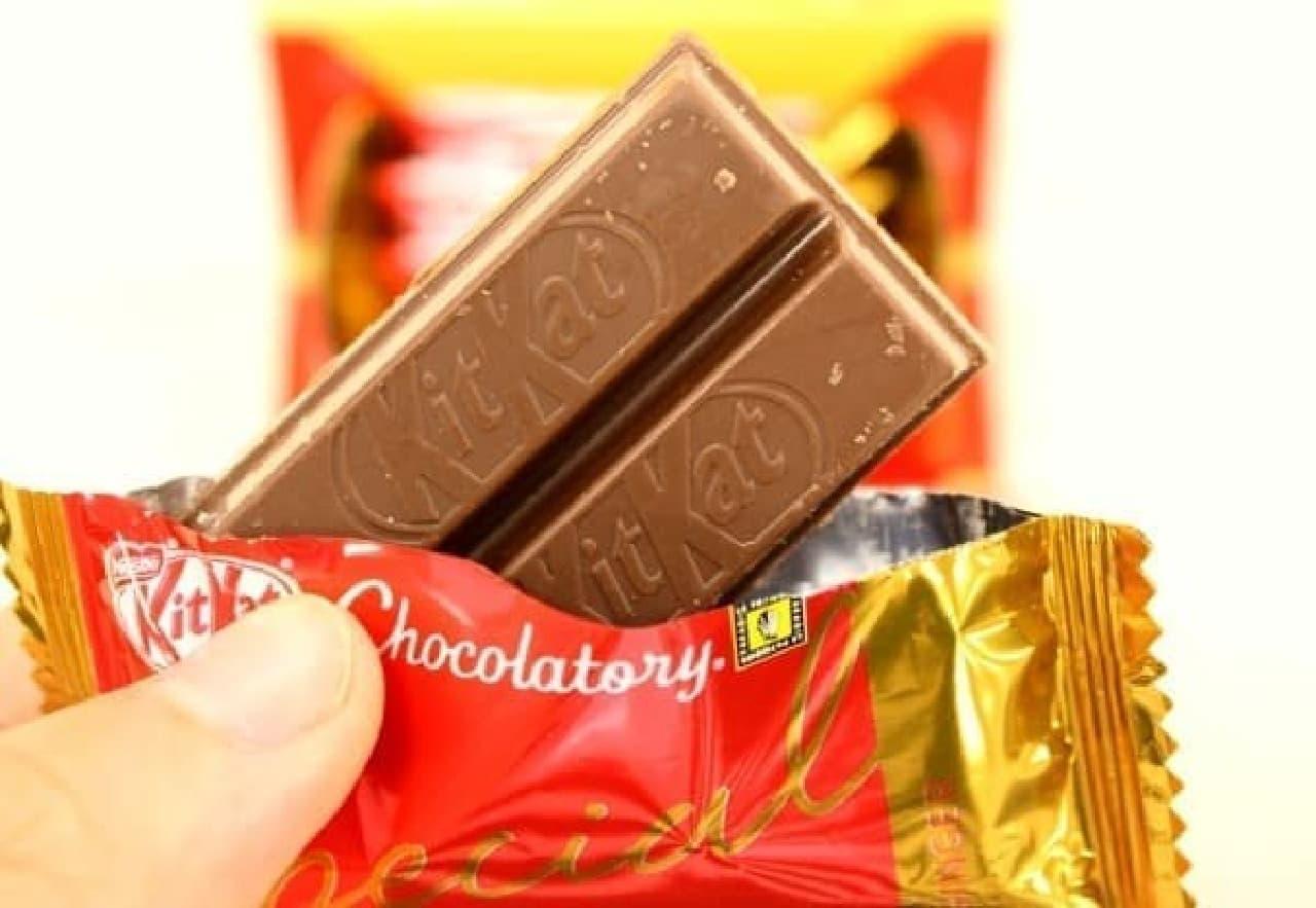 ミルクチョコとジンジャーの見事な融合